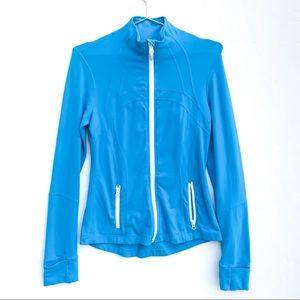 Lululemon Electric Blue Zip Up Performance Jacket